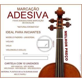 Adesivos Para Marcação De Posições Notas Escalas Violino