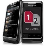 Motorola Motosmart Me Xt305 Dual Chip 3g +brinde Cartão 8gb