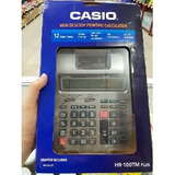 Casio Hr-100tm Calculadora Plus