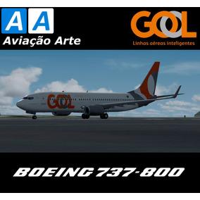 Aeronave Fsx - Frota Gol - Boeing 737-800