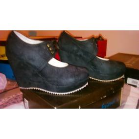 Zapato Dama Con Plataforma - Liquidación - Nuevas