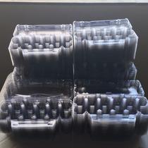Embalagem Plástica Para 12 Ovos De Galinha /pacote 50 Unid