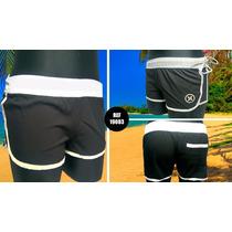 Pantaloneta Short Ropa Dama Roxy Hurley + Labial + Envío G