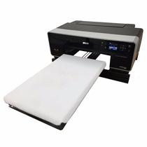Impresora Textil - Imprima Franelas De Algodón Directamente