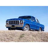 Ford F100 Frente De Chapa Marco Radiador Mod 78-80 Nafta