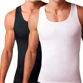 Camisa Faja Hombre Reduce Abdomen Pectorales Corrige Postura