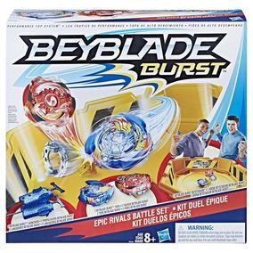 Campo De Batalha Beyblade Burst Starter Battle Hasbro B9498