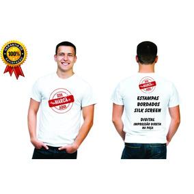 Camiseta Personalizada - Kit 20 Camisetas Promoção