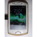Celular Sony Xperia Wt19a Blanco Movistar + Funda Tpu