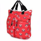 Bolsa Feminina Tote Bag Paul Frank Original Vermelha