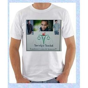 Camiseta Assistente Social Masculino