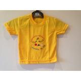 Uniforme Camisetas Infantil Educação De Ser Queima Estoque
