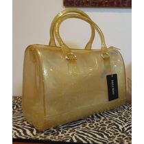 Bolsa Candy - Deli Bag - Dourada Com Glitter Última Unidade!