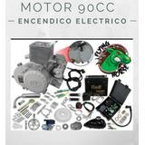 Motor Bicimoto 90cc Automático Encendido Eléctrico Bt90 5hp