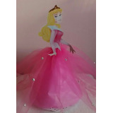 Adorno Torta, Princesas Disney, Centro De Mesa, Princesas