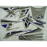 Kit Faixas Adesivos Yamaha Xt 600 Ano 98/99 Cor Azul
