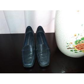 Zapatos De Piel Suave Suela Corrida Carlo Rossetti 23.5