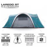 Barraca Camping Laredo Gt 8/9p Ntk+nota Fiscal+ Frete Grátis
