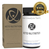 Keto Nutrition Ketogenic Test Strips Cetogénica