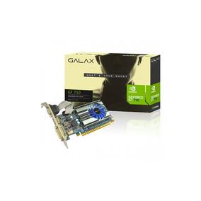 Placa De Vídeo Nvidia Galax Geforce Gt710 1gb Ddr3 64bits Sp