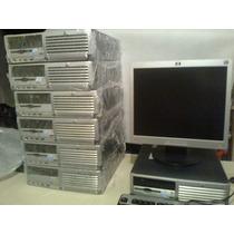 Computadoras Baratas Hp 3.0ghz Lcd 17,dvd 80gb Y 2gb Oferta