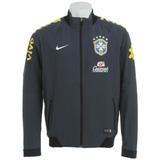 Jaqueta Nike Brasil Cbf 2014 - Select Azul G Patrocinadores