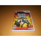 Guitar Hero World Tour Nintendo Wii Completo Funcionando