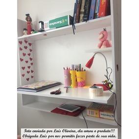Mesa Notebook Suspensa De Parede De Estudos Canadá + F.grát*