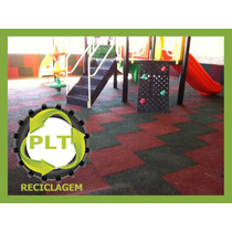 Piso Playground Academias Borracha Emborrachado