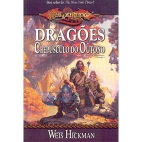 Livro Dragonlance Dragões Do Crepúsculo Do Outono Novo