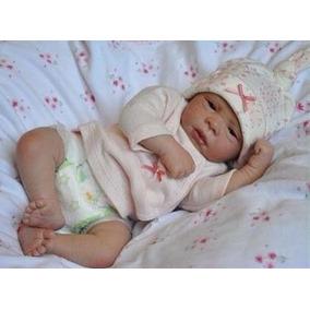 Boneca Bebe Reborn Detalhes Reais Super Real