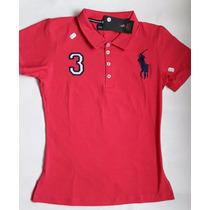 Camiseta Tipo Polo, Dama,hollister, Polo, Abercrombie