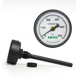 Termômetro Para Forno A Lenha Haste 10cm 0-500ºc - Frmix