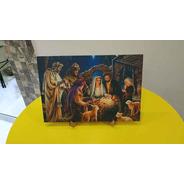 Quadro Decorativo Natalino Presépio Natal Nascimento Jesus