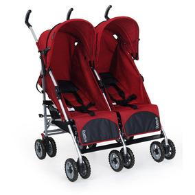 Carrinho De Bebê Gêmeos Duetto Atimo Reclinável - Burigotto