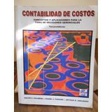 Contabilidad De Costos 3ª Edicion - Ralph Pòlimeni / Fabozzi