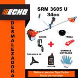Bordeadora Motoguadaña Echo Srm 3605 U 34cc