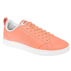Tenis adidas Vs Advantage Clean Coral Originales W78691