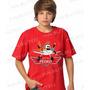 Lembrança De Aniversario Aviões Disney Camiseta Infantil