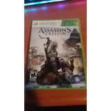 Juego Assassins Creed 3 Iii Xbox 360