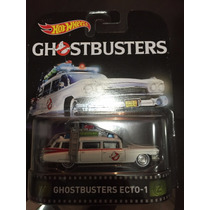 Hot Wheels 2016 Retro Ecto 1 - Ghostbuster - Llantas De Goma