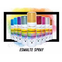 Esmalte Spray Ellen Gold Coloreeze Escolha Sua Cor Preferida