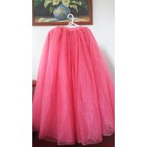 Vestidos De Xv Años Desmontable, Seminuevo, Color Coral.