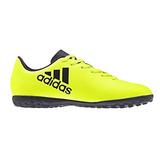 Tenis Futbol Rapido adidas X Color Amarillo Niños Original