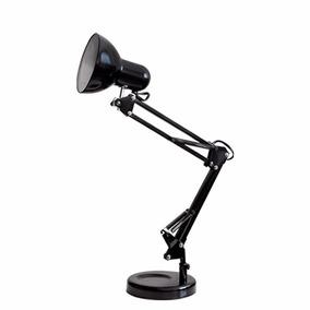 Luminária De Mesa Articulada Articulável Pixar Base Ou Garra