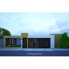Planos Y Fachadas De Casa Moderna