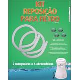 Kit Mangueira Reposição Manutenção Bomba Filtro De Piscina
