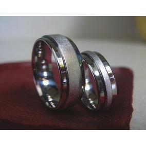 Argollas -anillos Bodas- Matrimonios-compromiso- Acero 316l