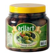 Aceitunas Negras Naturales 000 Premium X 1 Kg - Arilart