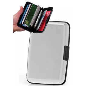 Paga 1 Y Lleva 2!! Billeteras Aluminio Resistente Al Agua